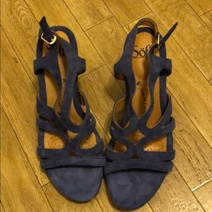 Leather sandals, new
